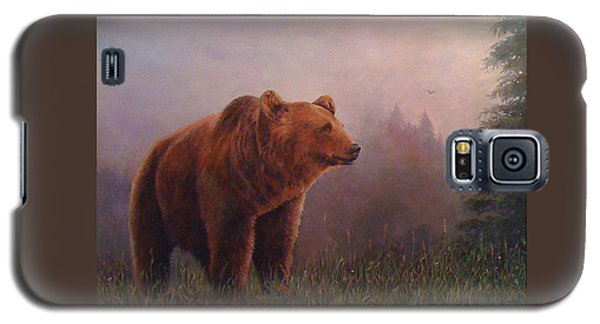 Bear In The Mist Galaxy S5 Case