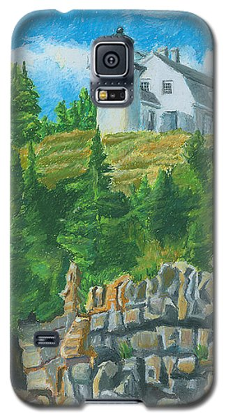 Bear Island Lighthouse Galaxy S5 Case