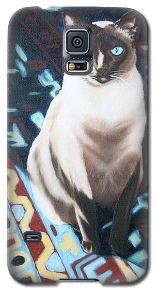 Galaxy S5 Case featuring the painting Bear by Nancy Jolley