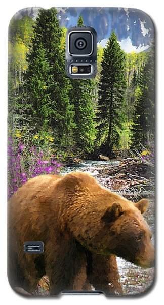 Galaxy S5 Case featuring the painting Bear Necessities by Doug Kreuger