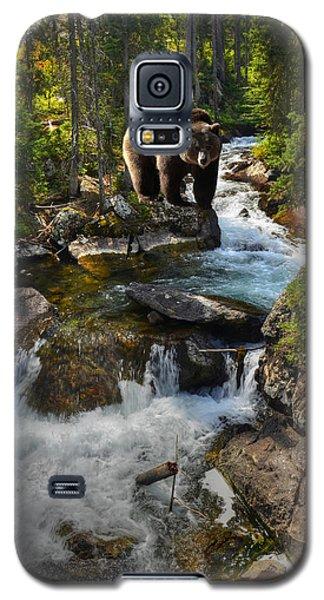 Bear Necessity Galaxy S5 Case by Ken Smith