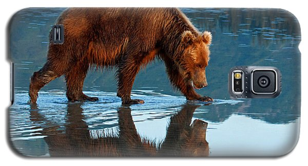 Bear Of A Reflection 8x10 Galaxy S5 Case