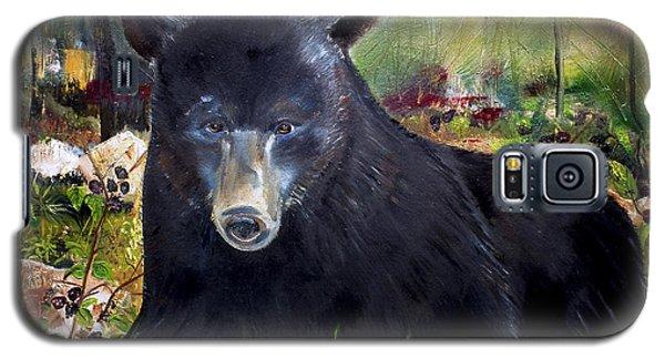 Bear Painting - Blackberry Patch - Wildlife Galaxy S5 Case