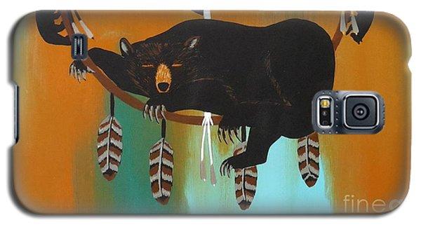 Bear Totem And Medicine Wheel Galaxy S5 Case