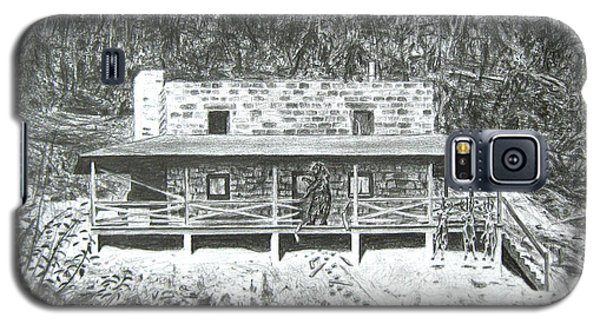 Bearry Springs Hunting Camp Galaxy S5 Case
