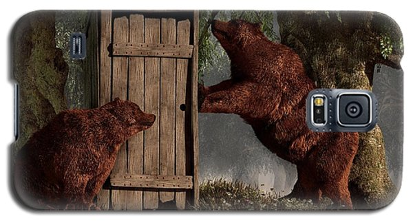 Bears Around The Outhouse Galaxy S5 Case