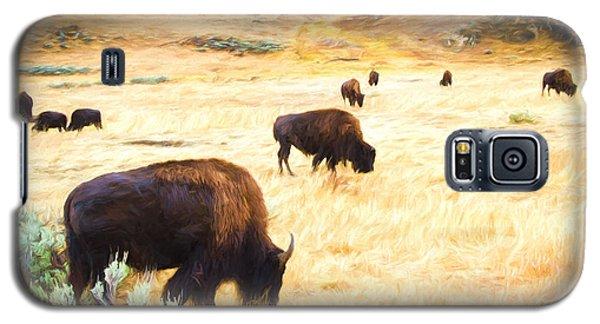 Beasts Of Yellowstone Galaxy S5 Case