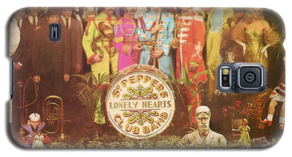 Beatles Lonely Hearts Club Band Galaxy S5 Case by Gina Dsgn