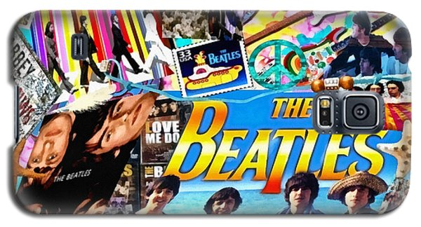 Beatles For Summer Galaxy S5 Case by Mo T