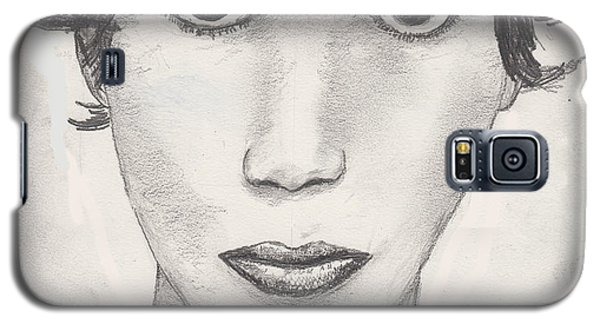 Galaxy S5 Case featuring the drawing Beau by David Jackson