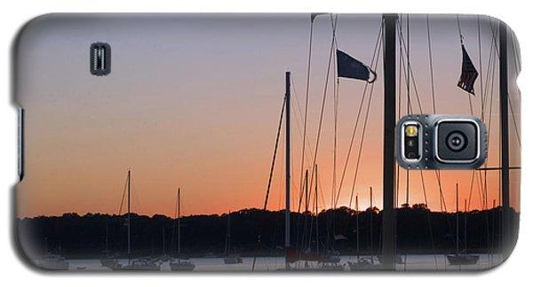 Beaufort Sc Sunset Galaxy S5 Case