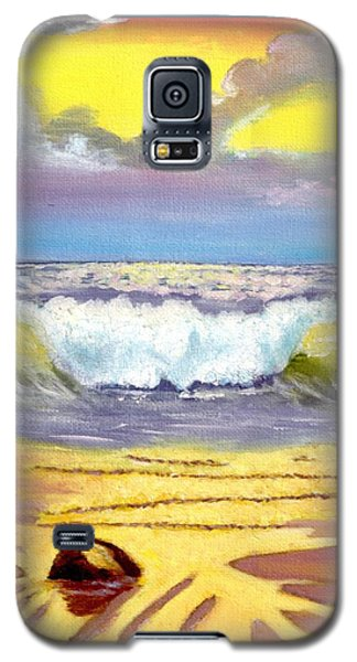Beautiful Beach Galaxy S5 Case