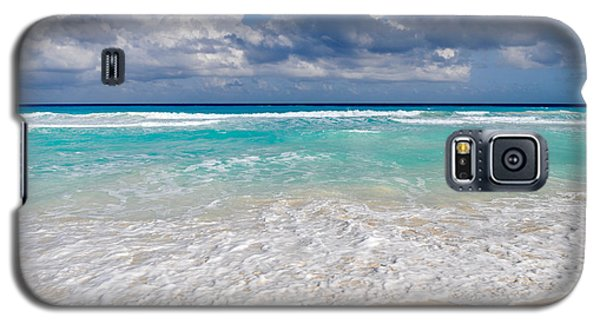Beautiful Beach Ocean In Cancun Mexico Galaxy S5 Case