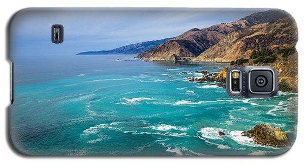 Beautiful Big Sur With Bixby Bridge Galaxy S5 Case