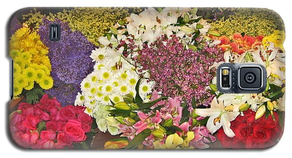 Galaxy S5 Case featuring the photograph Beautiful Blooms by Judith Morris
