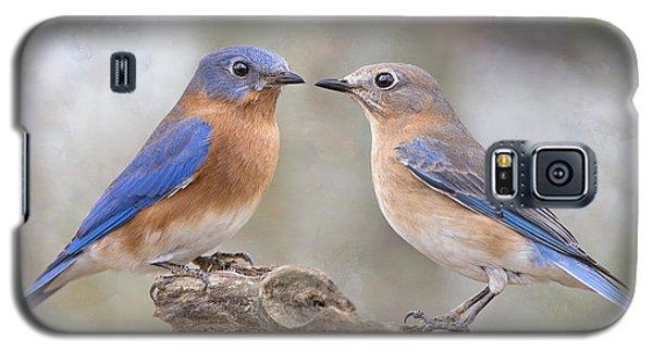 Beautiful Bluebirds Galaxy S5 Case