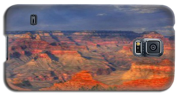 Galaxy S5 Case featuring the painting Beautiful Canyon by Bruce Nutting