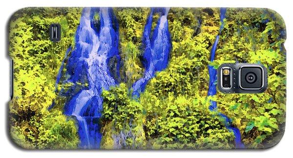 Beautiful Colorful Waterfall Galaxy S5 Case