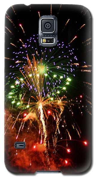 Beautiful Fireworks Works Galaxy S5 Case by Kim Pate