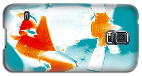 Galaxy S5 Case featuring the photograph Fixed Wing Aircraft Pop Art Poster by R Muirhead Art