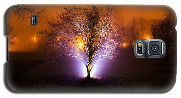 Beautiful Foggy Night 2 Galaxy S5 Case