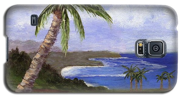 Galaxy S5 Case featuring the painting Beautiful Kauai by Jamie Frier