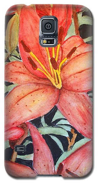 Beautiful Lilies Galaxy S5 Case by Carol Grimes