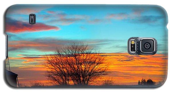 Beautiful Mornin' Panorama Galaxy S5 Case by Bonfire Photography
