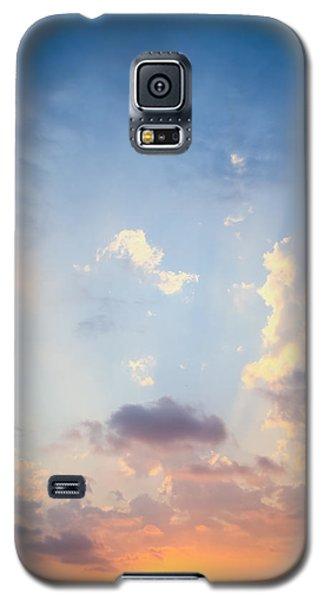 Beautiful Orange Sunset Galaxy S5 Case