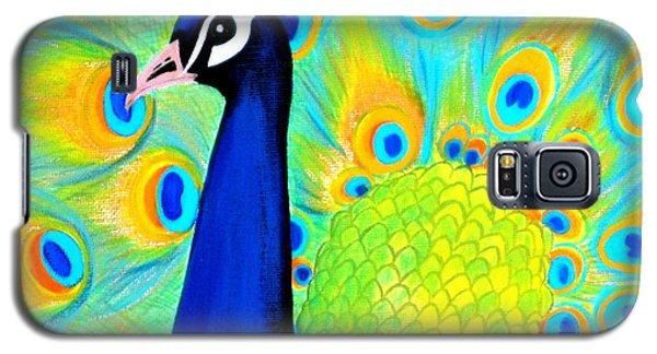 Beautiful Peacock Card Galaxy S5 Case
