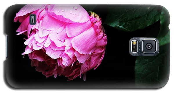 Galaxy S5 Case featuring the photograph Beautiful Peony by Trina  Ansel
