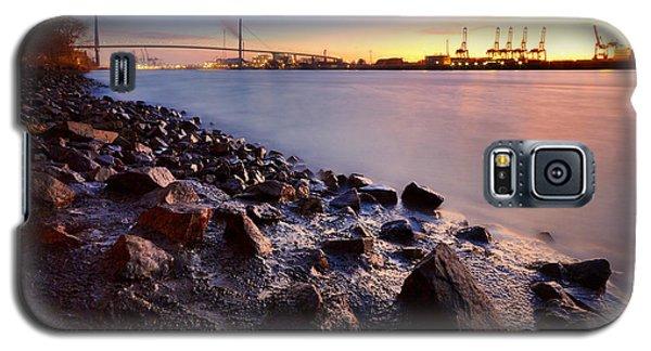 Beautiful Port Of Hamburg Galaxy S5 Case