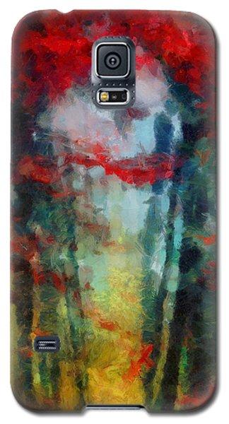 Galaxy S5 Case featuring the painting Beautiful Secrets by Joe Misrasi