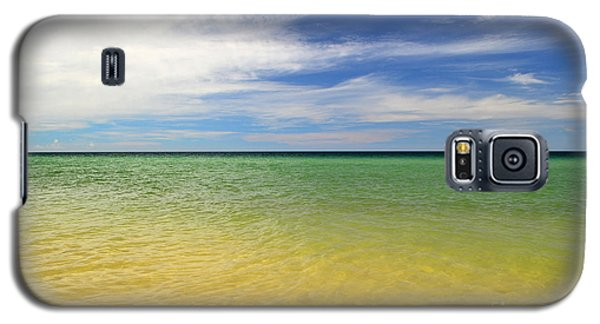 Beautiful St George Island Water Galaxy S5 Case by Holden Parker