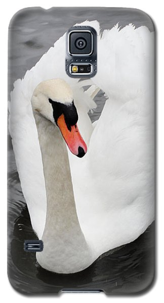 Galaxy S5 Case featuring the photograph Beautiful Swan by Tiffany Erdman