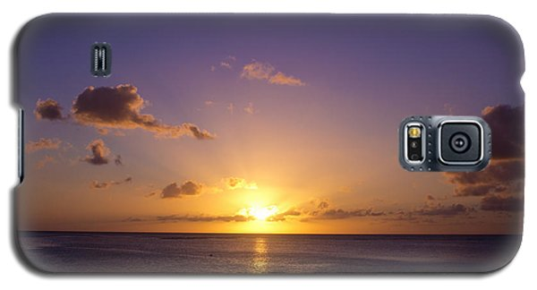 Beautiful Tropical Island Sunset On The Beach In Guam Galaxy S5 Case