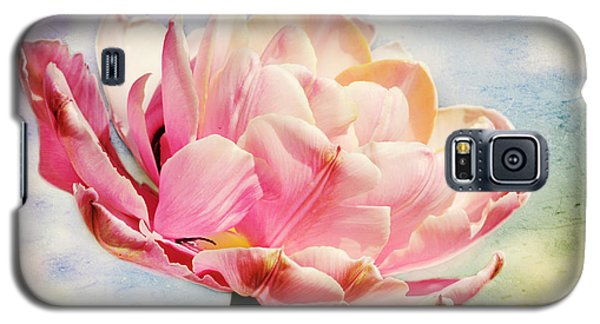 Galaxy S5 Case featuring the photograph Beautiful Tulip by Trina  Ansel