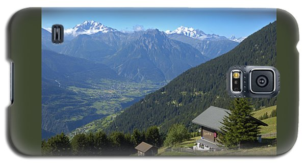Beautiful View From Riederalp - Swiss Alps Galaxy S5 Case