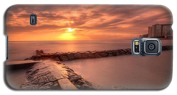 Beautiful Waikiki Sunset Galaxy S5 Case