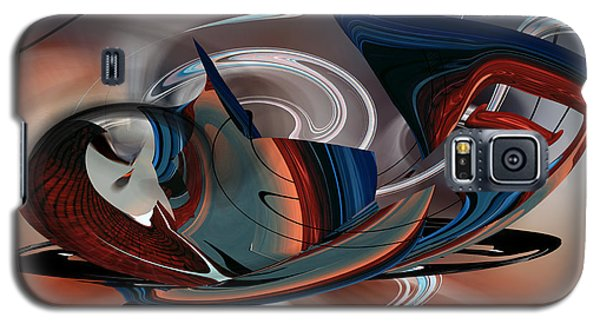 Galaxy S5 Case featuring the digital art Beautiful Whimsey by rd Erickson