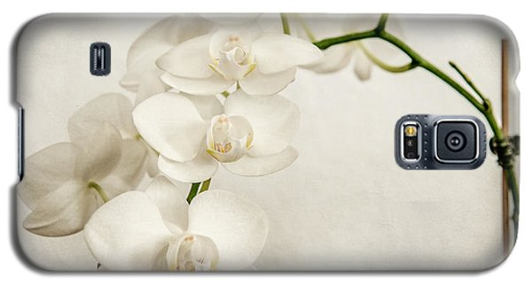 Beautiful White Orchid II Galaxy S5 Case