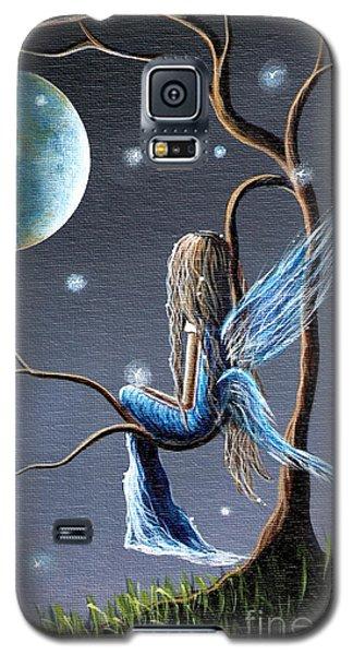 Fairy Art Print - Original Artwork Galaxy S5 Case by Shawna Erback