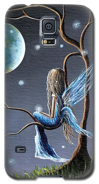 Fairy Galaxy S5 Case - Fairy Art Print - Original Artwork by Shawna Erback