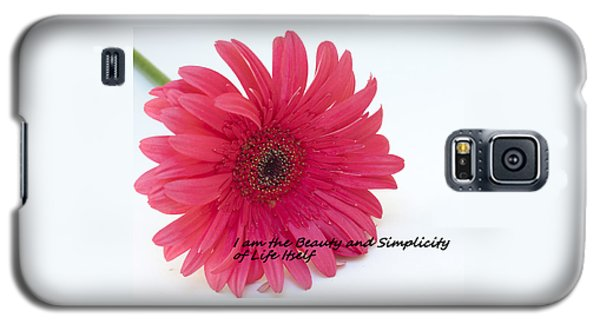 Beauty And Simplicity Galaxy S5 Case