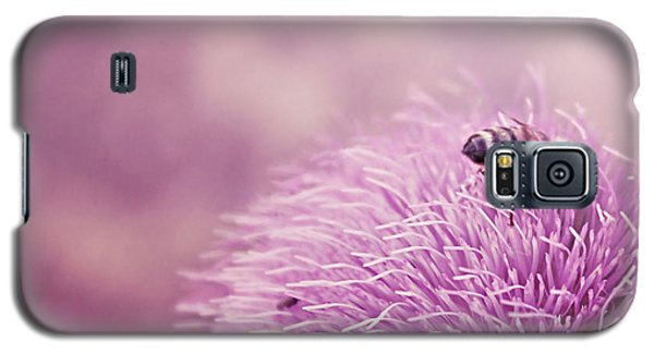 Beauty And The Bee Galaxy S5 Case by Trish Mistric