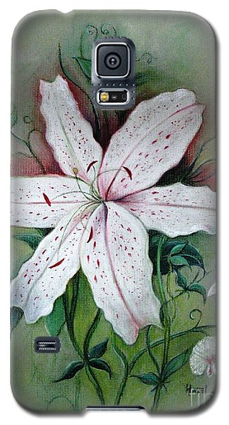 Galaxy S5 Case featuring the painting Beauty For Ashes by Hazel Holland