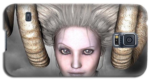 Galaxy S5 Case featuring the digital art Beauty Is The Beast by Sandra Bauser Digital Art
