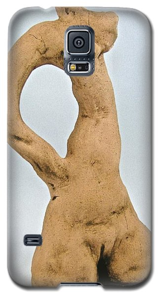 Beauty Must Pose For Us Galaxy S5 Case by Mario Perron