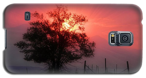 Beauty Of Sunset Galaxy S5 Case by Michelle Frizzell-Thompson