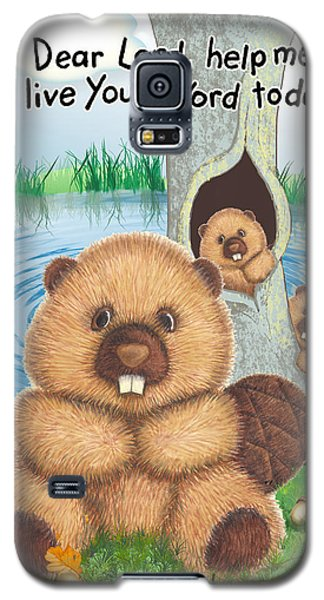 Beaver Galaxy S5 Case by Jerry Ruffin